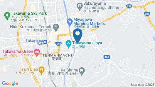 HOTEL WOOD TAKAYAMA Map