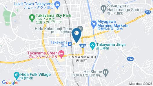 BEYOND HOTEL Takayama 2nd Map