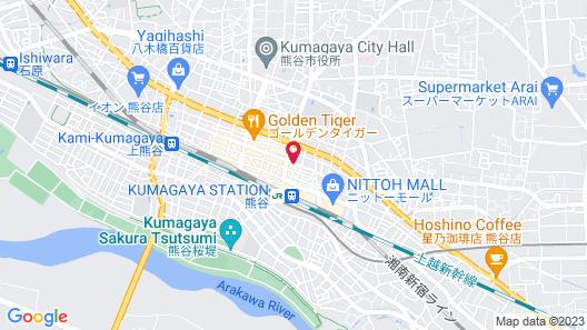 Toyoko Inn Kumagaya-eki Kita-guchi Map