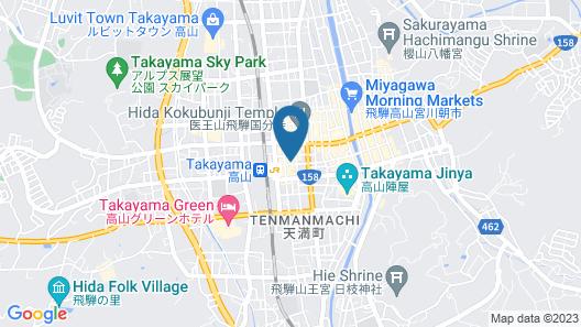 ESTABLISHMENT Takayama Map