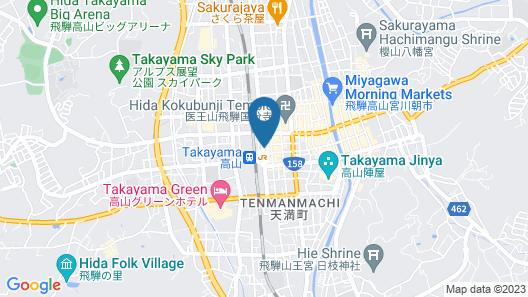 Country Hotel Takayama Map