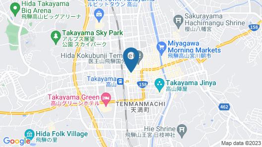 Oyado Koto No Yume Map