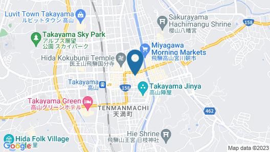 Ryokan Seiryu Map