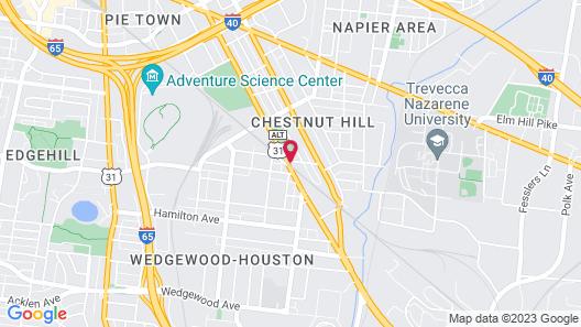 BentoLiving Chestnut Hill Map