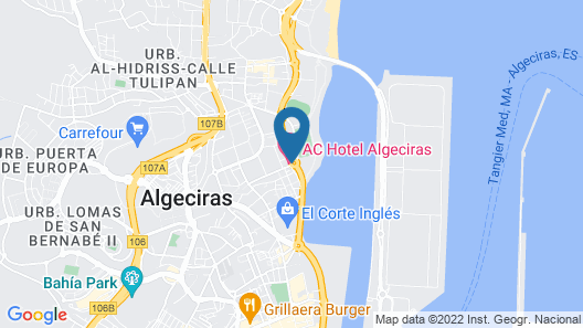 AC Hotel Algeciras by Marriott Map
