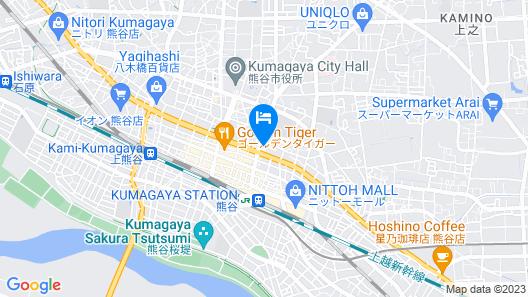 King Ambassador Hotel Kumagaya Map