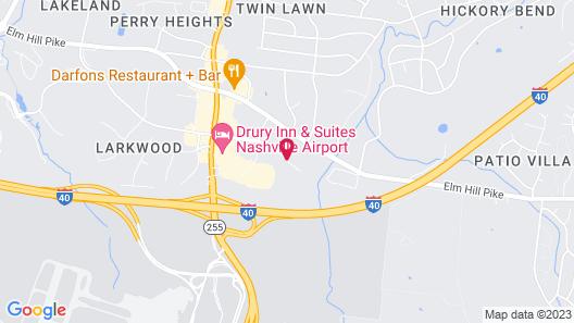 Home2 Suites by Hilton Nashville-Airport Map