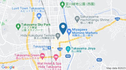Super Tomato House Takayama Map