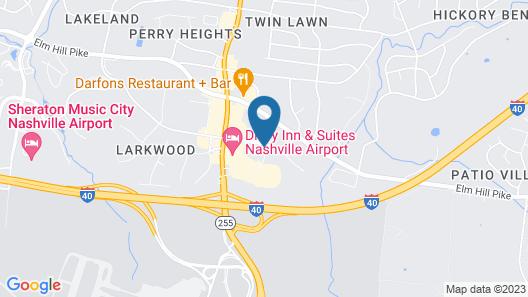 Sonesta Select Nashville Airport Suites Map