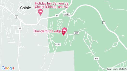 Thunderbird Lodge Map