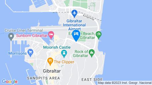 Holiday Inn Express Gibraltar Map