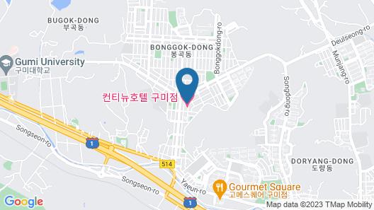 Gumi Bonggokdong Anytel Map