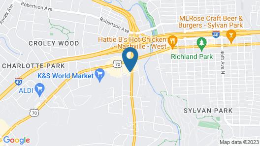 Holiday Inn Express W-I40/Whitebridge Road, an IHG Hotel Map
