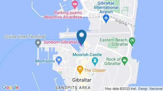 Luxury Yacht Hotel Map