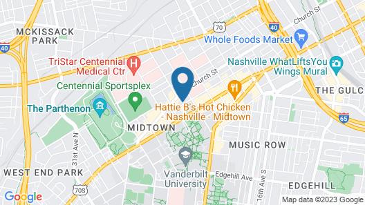 The Lee ApartaHotel Map