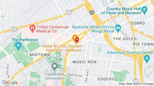 Embassy Suites by Hilton Nashville at Vanderbilt Map