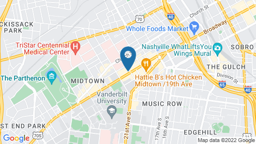 Graduate Nashville Map
