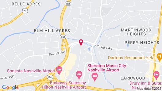 The Alexis Inn & Suites - Nashville Airport Map