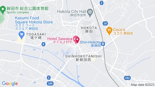 Hotel Sawaya Map