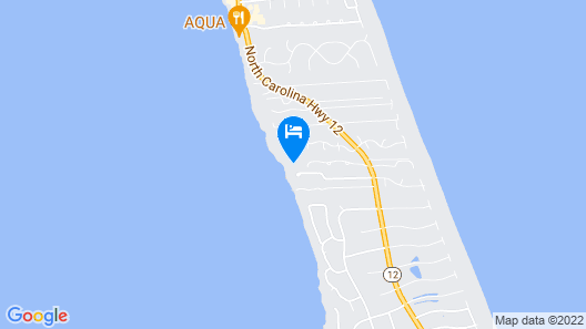 Yellow Beach House Map
