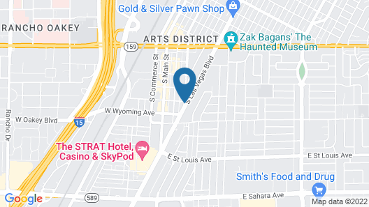 Traveler's Bed & Breakfast Hostel Map