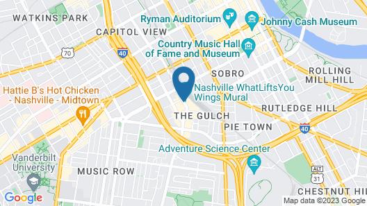 Thompson Nashville Map