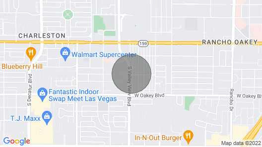 LICENSED, SANITIZED, CLOSE TO THE STRIP  Map