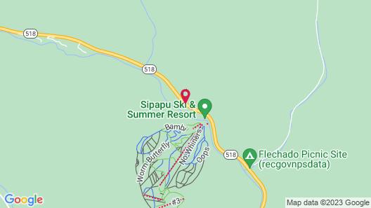 Sipapu Ski and Summer Resort Map