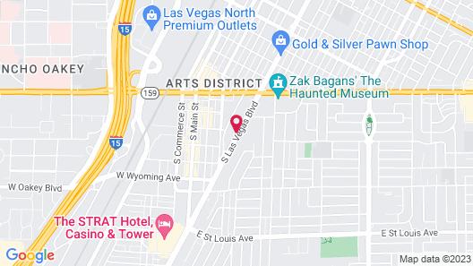 Hostel Cat Map
