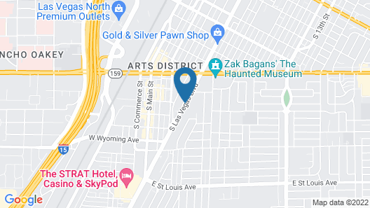 Thunderbird Hotel Map