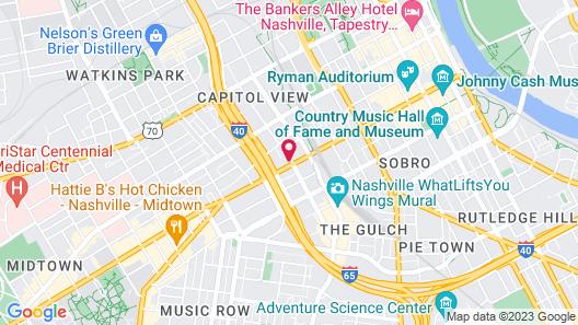 Kasa Nashville The Gulch Apartments Map