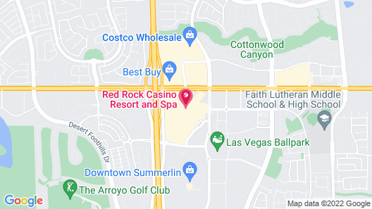Red Rock Casino, Resort and Spa Map