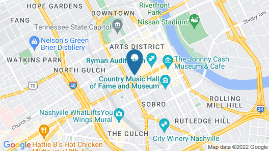 Holston House Nashville - in the Unbound Collection by Hyatt Map