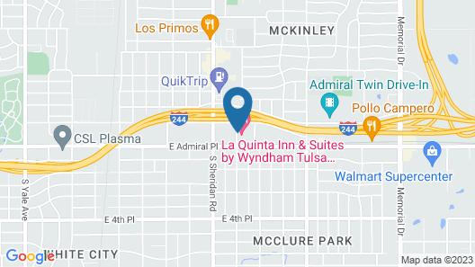 La Quinta Inn & Suites by Wyndham Tulsa Airpt / Expo Square Map