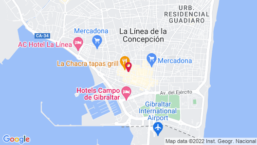 Hostal París Map