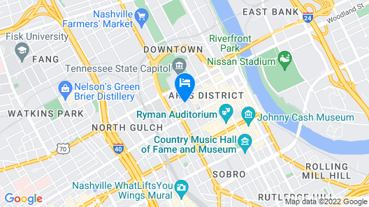 The Capitol Hotel Downtown, Ascend Hotel Collection Map