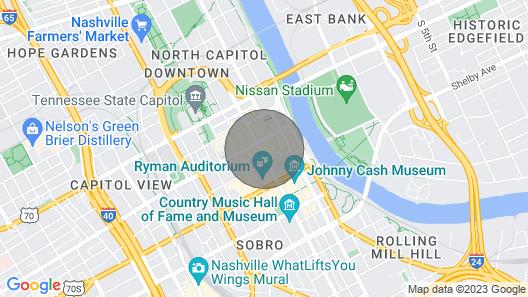 Stay like a local!! Walk to Broadway, Nashville! Music City Loft, Kenny loft! Map