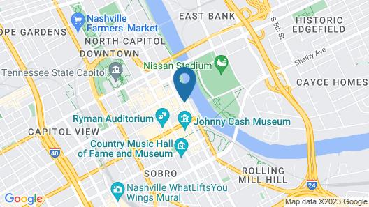 Studio 154 Luxury Hotel Map