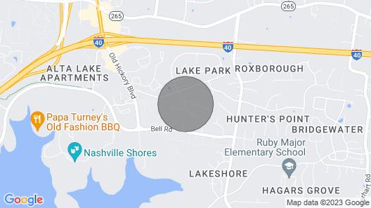 Ultra Nashville Super Spot Pool & HOT TUB Map
