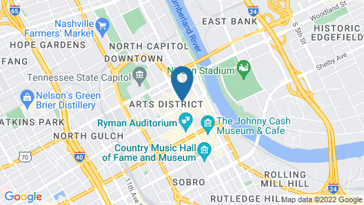 Dream Nashville Map