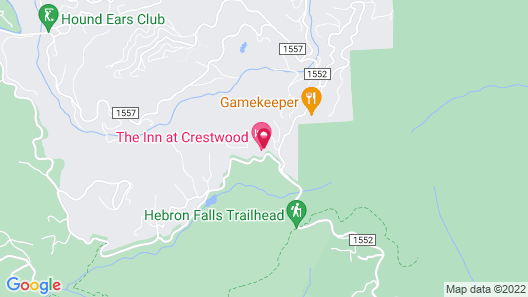 The Inn at Crestwood Map