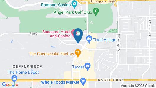 Suncoast Hotel and Casino Map