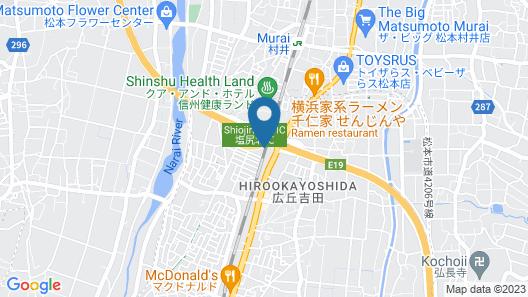 Chisun Inn Shiojiri Kita Ic Map