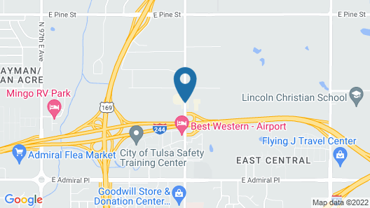 Country Inn & Suites by Radisson, Tulsa, OK Map