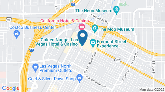 Golden Nugget Las Vegas Hotel & Casino Map