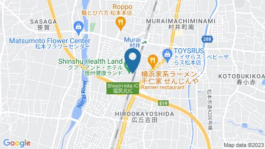 Kur and Hotel Shinshu Map