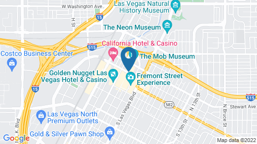 Downtown Grand Las Vegas Map