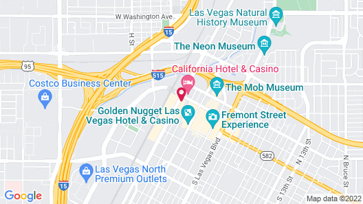 Circa Resort & Casino – Adults Only Map