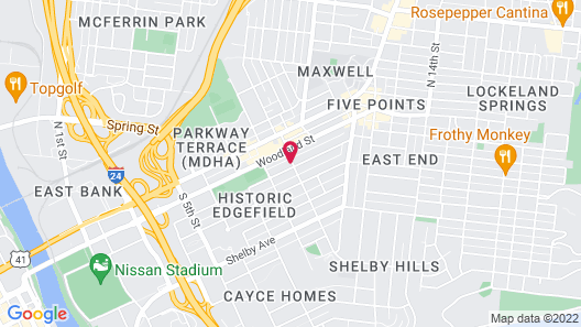 The Russell Nashville Map