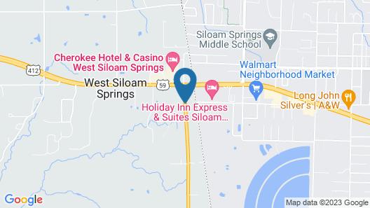 Best Western Stateline Lodge Map